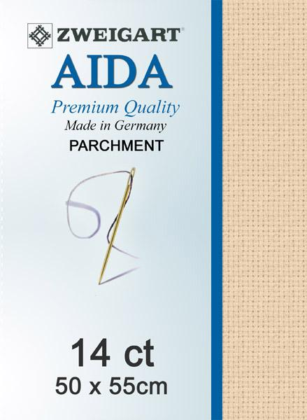 Aida Fat Quarter 14 Dk Ecru - [product-vendor] - Craftco Ltd - NZ