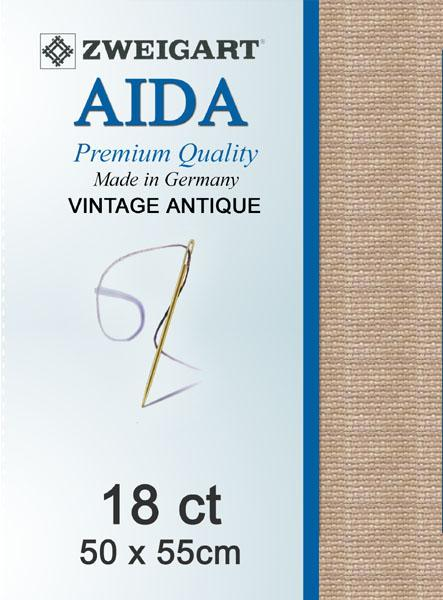 Aida Fat Quarter 18 Vintage Mocha - [product-vendor] - Craftco Ltd - NZ