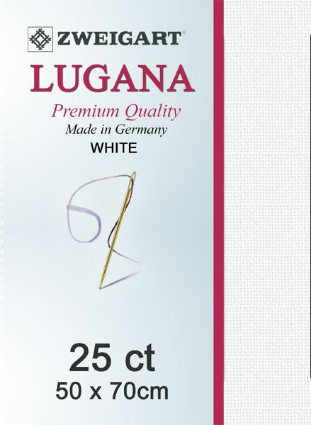Lugana Fat Quarter 25 White - [product-vendor] - Craftco Ltd - NZ