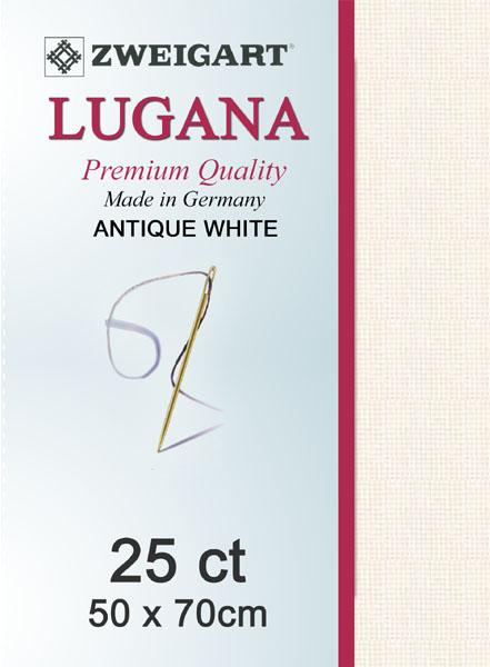 Lugana Fat Quarter 25 Antique White - [product-vendor] - Craftco Ltd - NZ