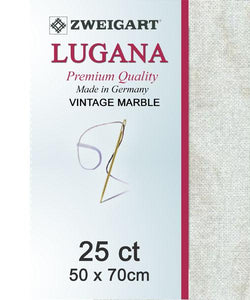 Lugana Fat Quarter 25 Vintage Sand - [product-vendor] - Craftco Ltd - NZ