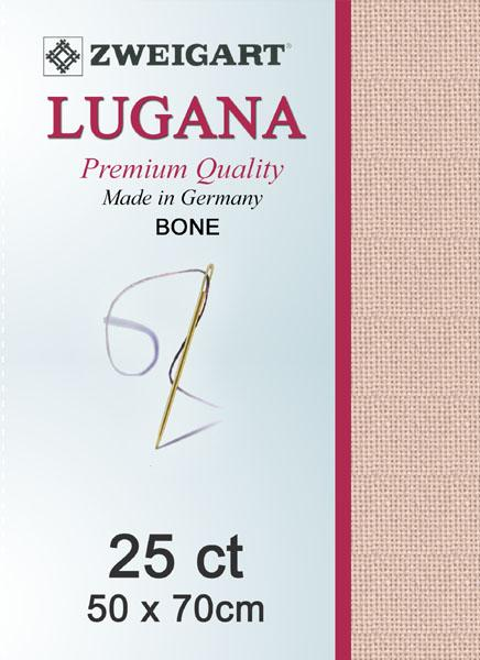 Lugana Fat Quarter 25 Bone - [product-vendor] - Craftco Ltd - NZ