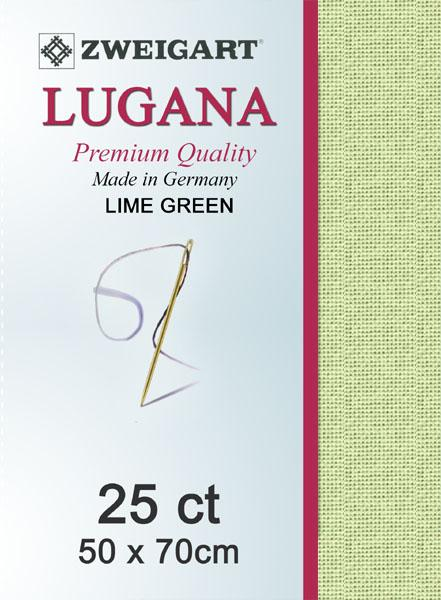 Lugana Fat Quarter 25 Spring Green - [product-vendor] - Craftco Ltd - NZ