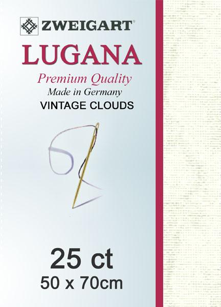 Lugana Fat Quarter 25 Vintage Clouds - [product-vendor] - Craftco Ltd - NZ
