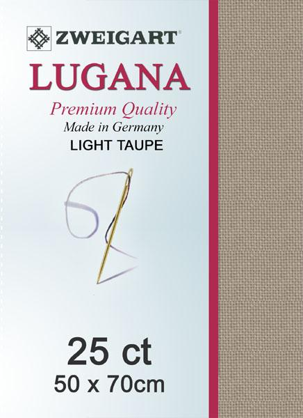 Lugana Fat Quarter 25 Taupe - [product-vendor] - Craftco Ltd - NZ
