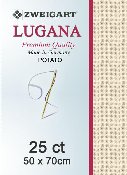 Lugana Fat Quarter 25 Parchment - [product-vendor] - Craftco Ltd - NZ