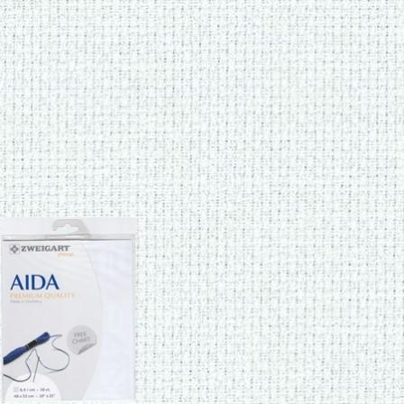 Aida Precut 16 White - [product-vendor] - Craftco Ltd - NZ
