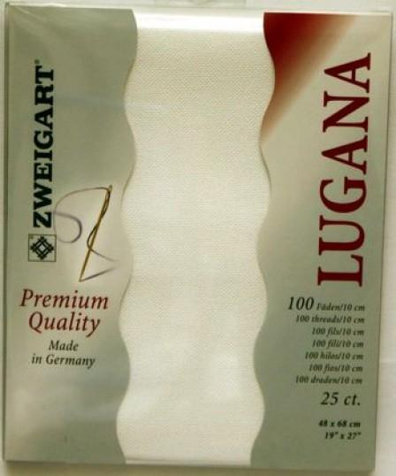 Lugana Precut 25 White - [product-vendor] - Craftco Ltd - NZ