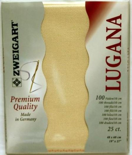 Lugana Precut 25 Ivory - [product-vendor] - Craftco Ltd - NZ