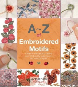 A-Z of Embroidered Motifs - [product-vendor] - Craftco Ltd - NZ