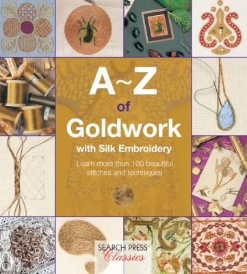 A-Z of Goldwork with Silk Embroidery - [product-vendor] - Craftco Ltd - NZ