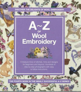 A-Z of Wool Embroidery - [product-vendor] - Craftco Ltd - NZ