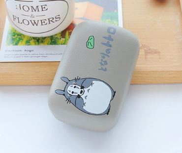Cover Your Face Totoro Contact Lens Case