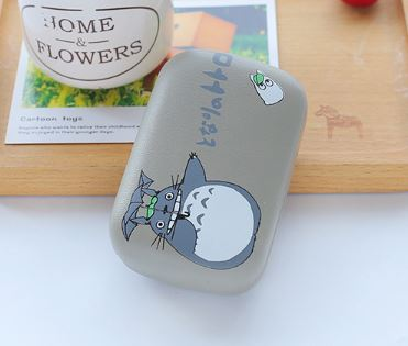 Pointing Totoro Contact Lens Case