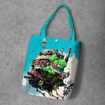 Basic Howl's Moving Castle Canvas Bag