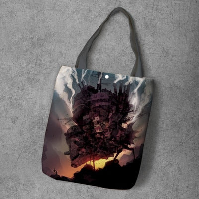 Dark Castle Canvas Bag