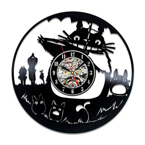 Waving Totoro Wall Clock