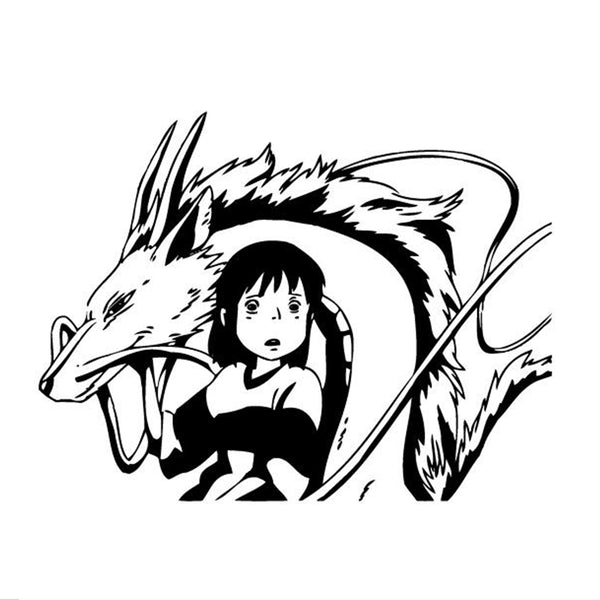 Haku The Dragon Sticker - Studio Ghibli Shop