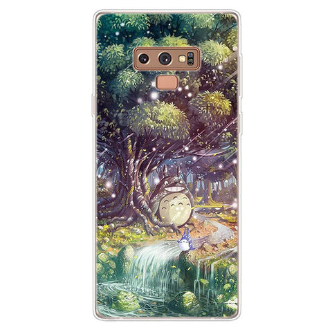 Enchanted Totoro Forest Samsung Galaxy Phone Case