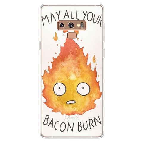 May All Your Bacon Burn Samsung Galaxy Phone Case