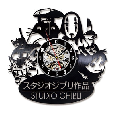 Studio Ghibli Fam Wall Clock
