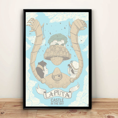 Laputa Castle in the Sky Poster/Print