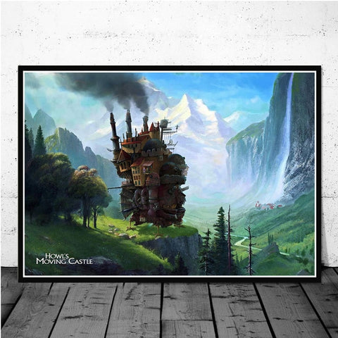 Howl's Moving Castle Poster/Print