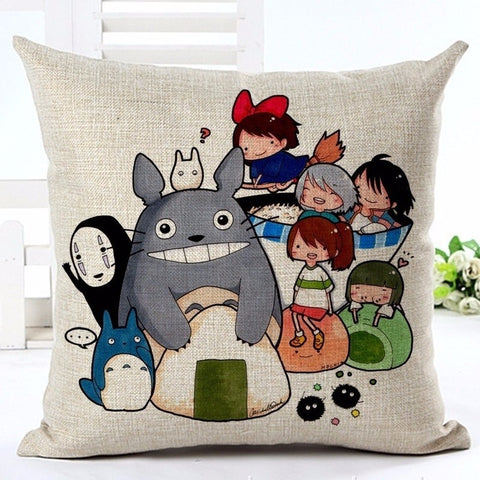 Studio Ghibli Character Cushion Cover