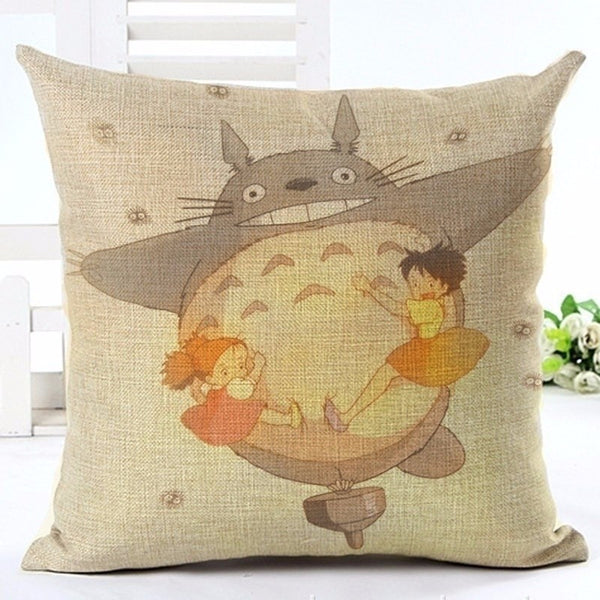 Embrace Totoro Cushion Cover - Studio Ghibli Shop