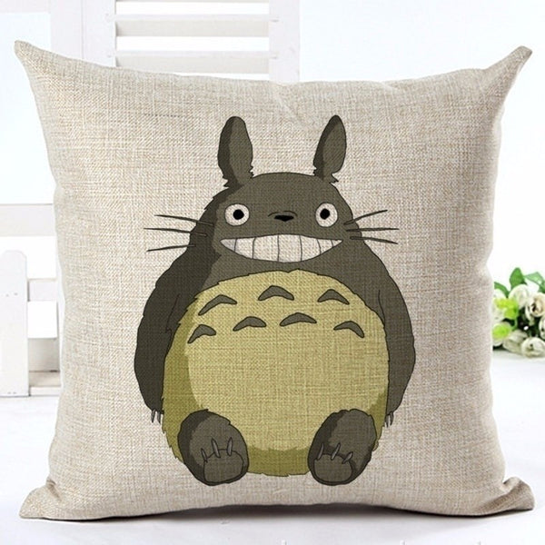 Behave Totoro Cushion Cover - Studio Ghibli Shop
