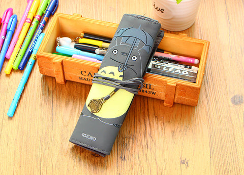 Rolling Totoro Pencil Case
