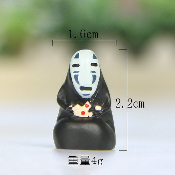 13pcs No Face Man Japanese Anime - Studio Ghibli Shop
