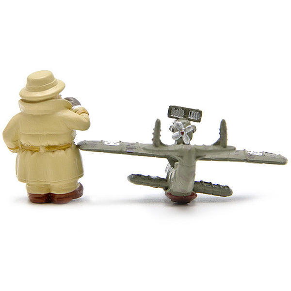 Porco Rosso & Airplane Figure - Studio Ghibli Shop