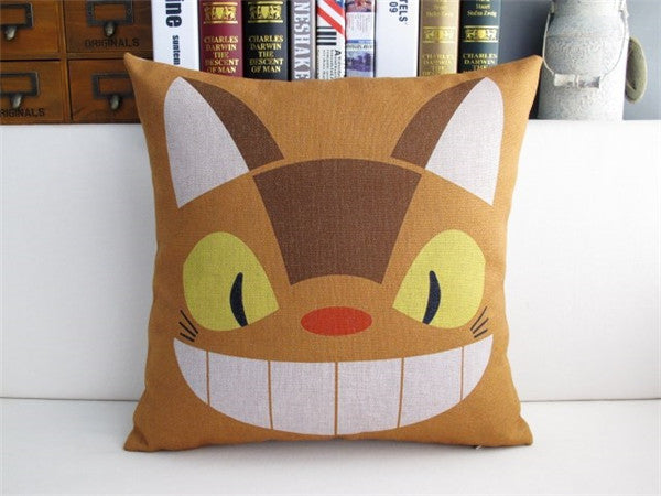 Catbus Cushion Cover - Studio Ghibli Shop