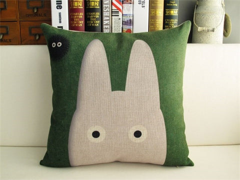 Shy Face Cushion Cover