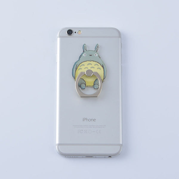Metal Totoro Phone Holder - Studio Ghibli Shop