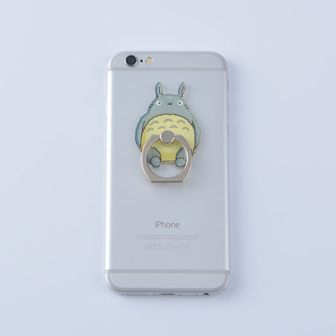 Metal Totoro Phone Holder