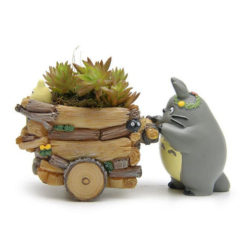 Totoro Pushing Cart Figure