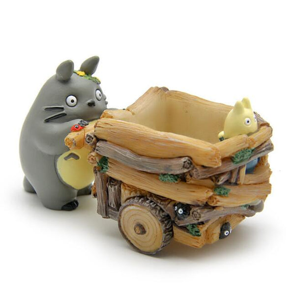 Totoro Pushing Cart Figure - Studio Ghibli Shop