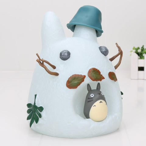 Totoro The Snow Man Piggy Bank