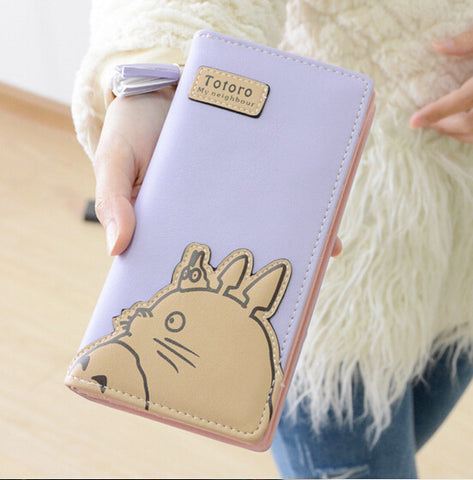 Fashion Long Totoro Wallet