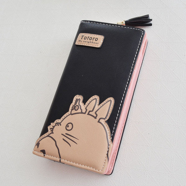 Fashion Long Totoro Wallet - Studio Ghibli Shop