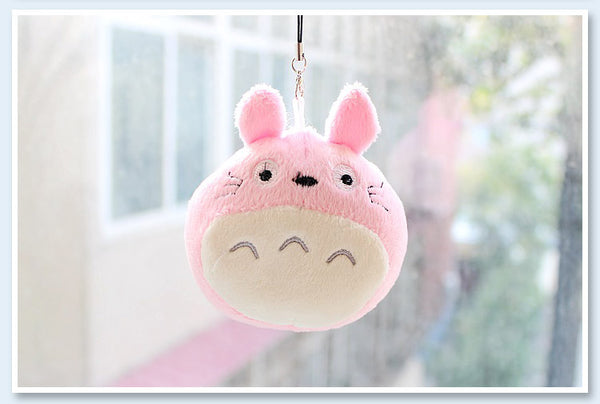 Pastel Totoro Key Chain - Studio Ghibli Shop