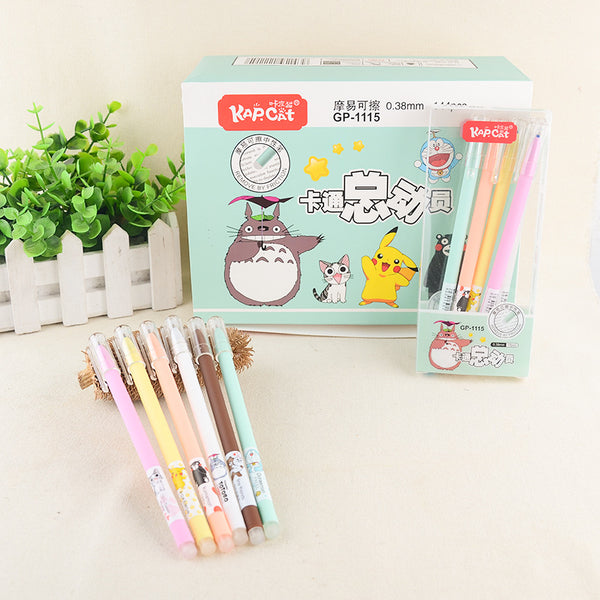 Erasable Gel Pen Set - Studio Ghibli Shop