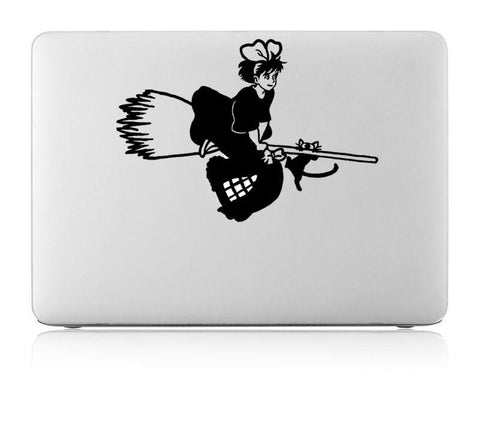 Flying Kiki Laptop Sticker