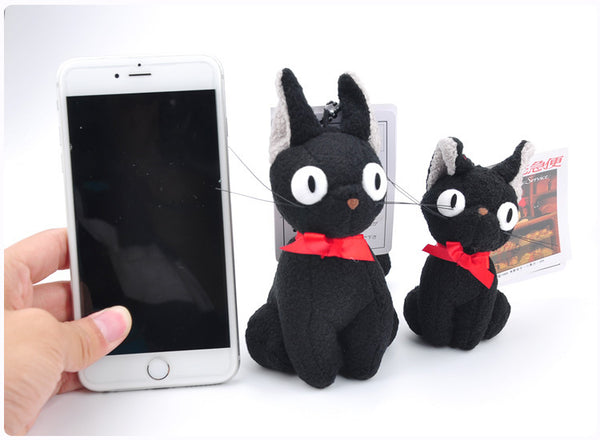 Small Jiji Plush toy - Studio Ghibli Shop