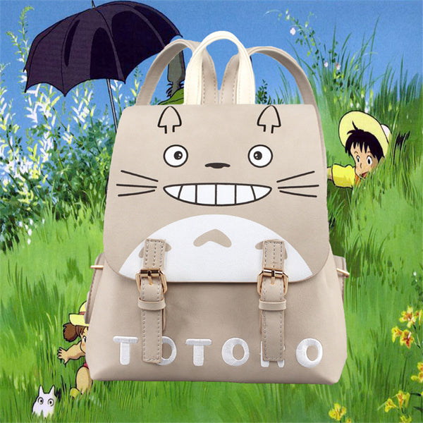 Canvas Totoro Bagpack - Studio Ghibli Shop