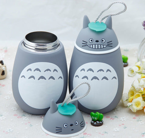 Cute Totoro Stainless Thermos - Studio Ghibli Shop