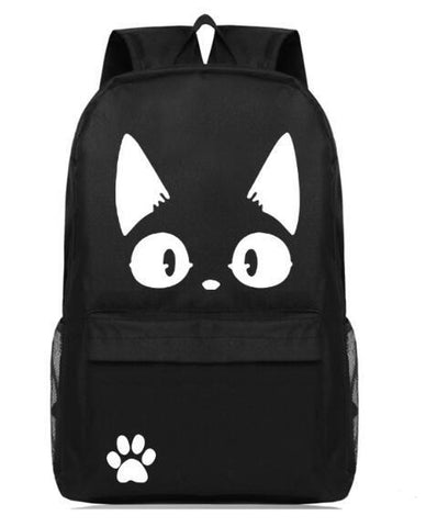 Black and White Jiji Backpack
