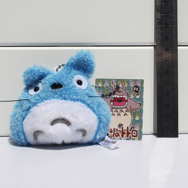 Blue Soft Totoro Key Chain - Studio Ghibli Shop